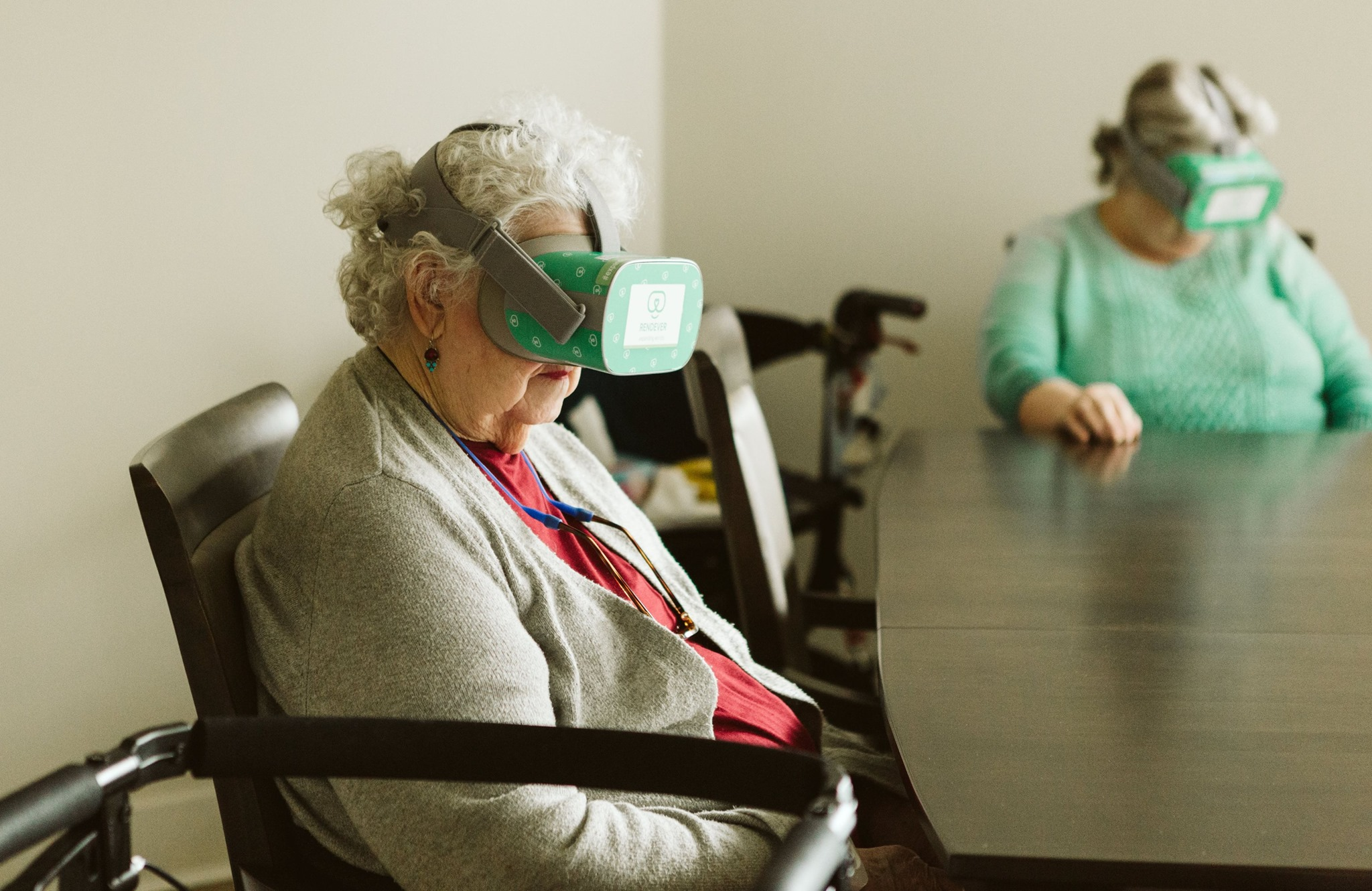 Virtual Reality for residents