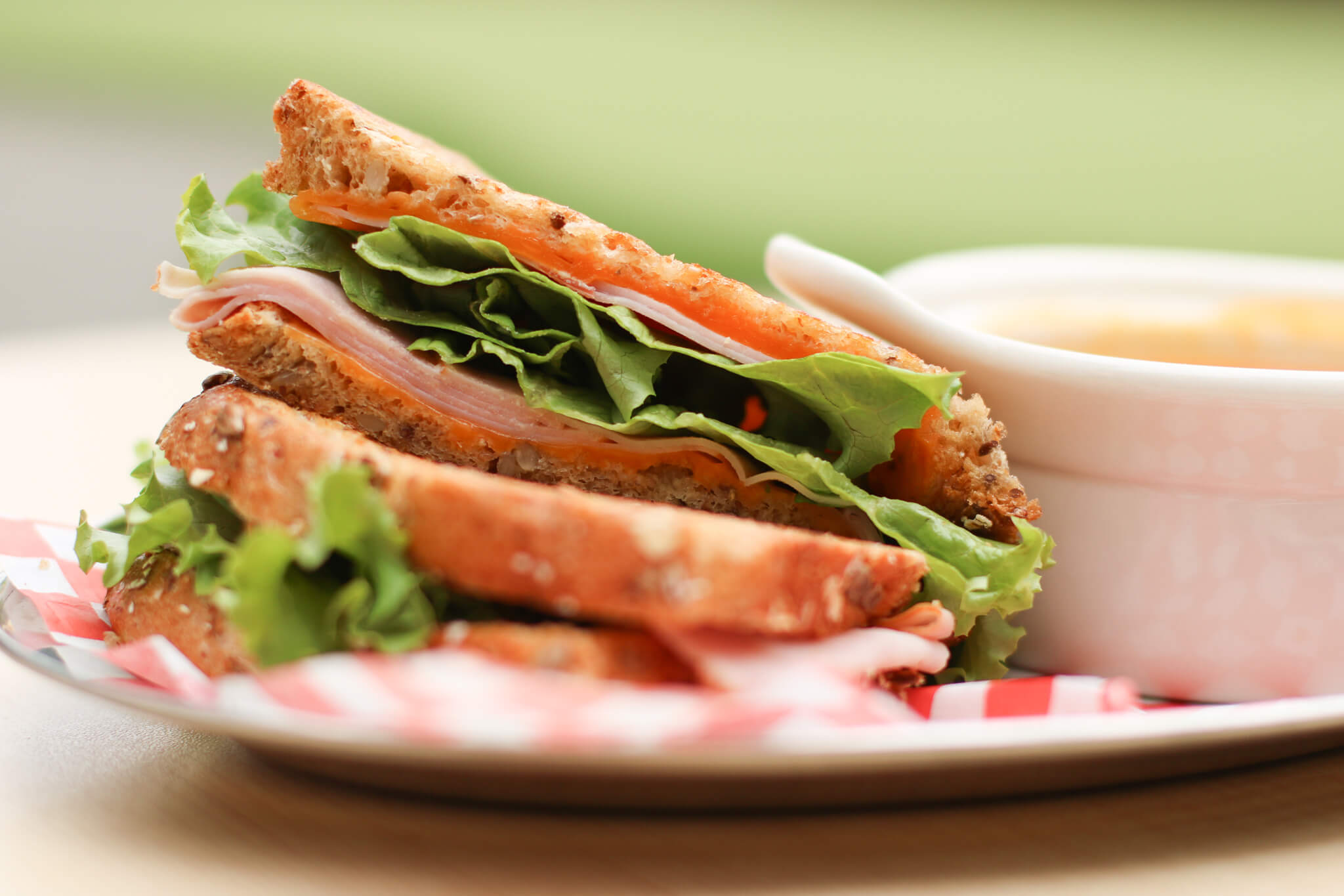 Ham & Cheese Panini from The Palms Bistro at Elim Village Fleetwood