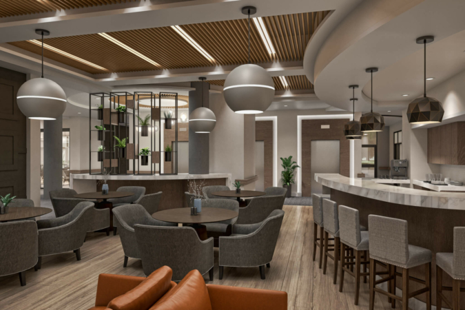 Chehalis Café and Lounge at The Hawthorn at Elim Village Garrison Crossing